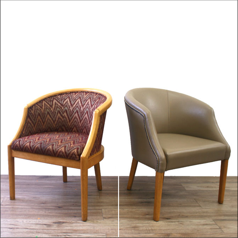 Golf club chair renovation & Office chair reupholstery and renovation gallery | HSI Office ...