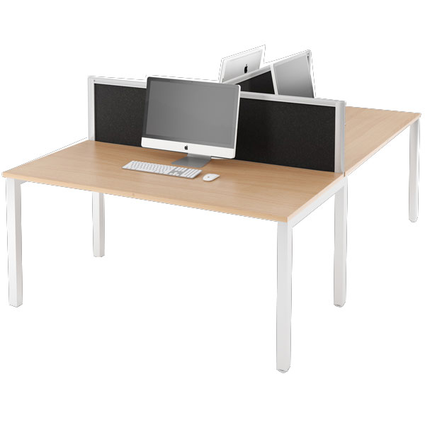 Group bench desk system