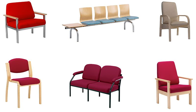 Healthcare reupholstery service