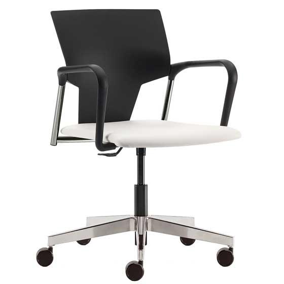 Ikon meeting chair - IK14C-WH