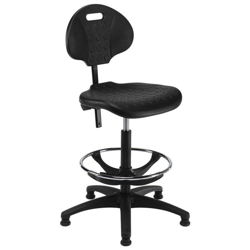 Summit industrial draughtman chair