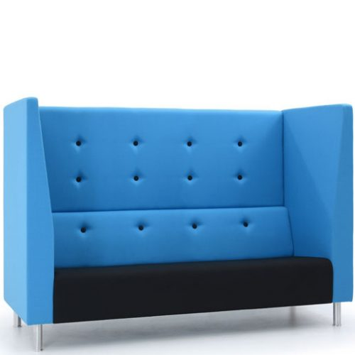 Jensen-up three seater booth sofa