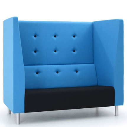 Jensen-Up two seater booth sofa