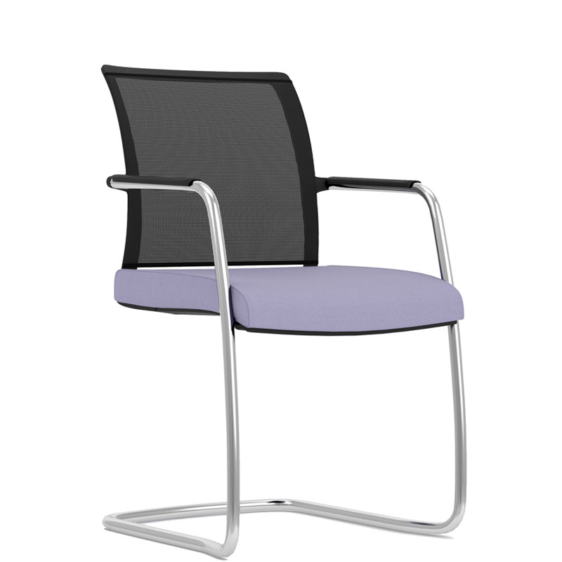 Jib Lite cantilever meeting chair