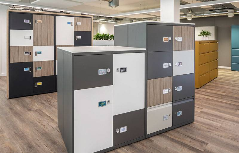 Bisley LateralFile Lockers