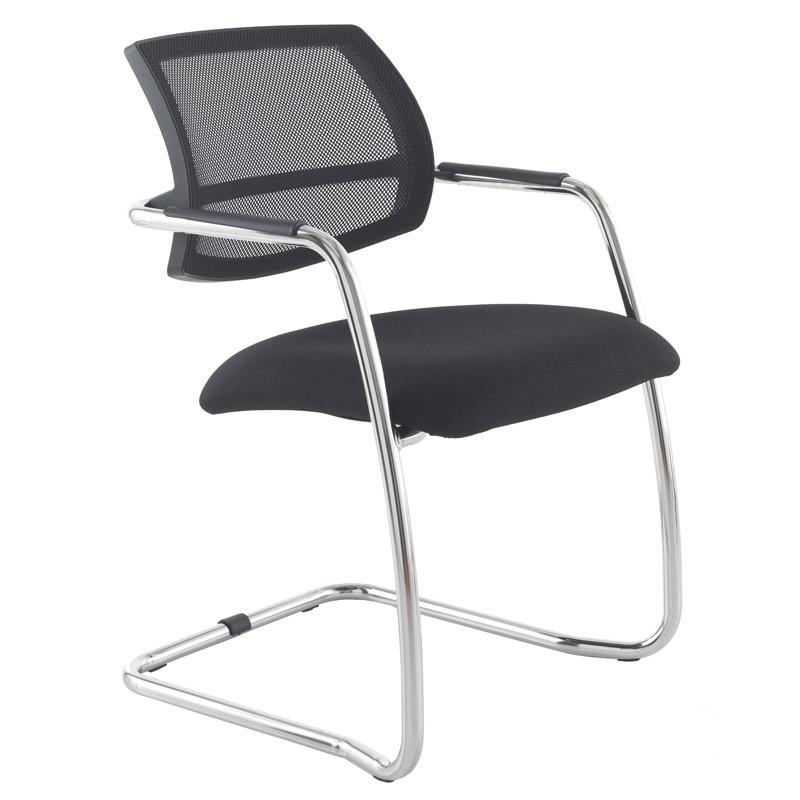 Matrix mesh side chair