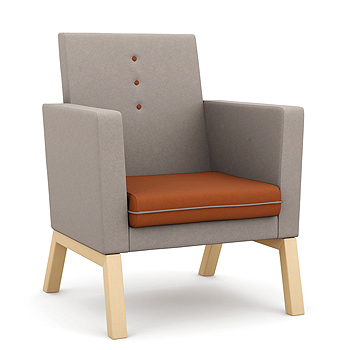 Me Myself and I - high backed armchair