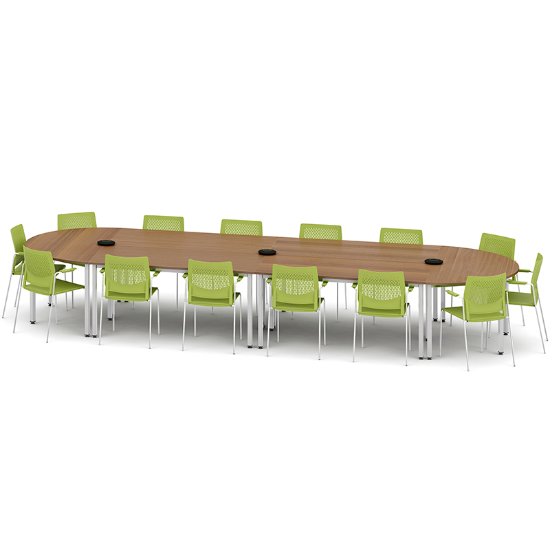 Metro modular meeting tables