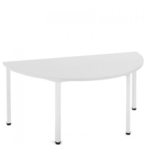 Metro semi circular table
