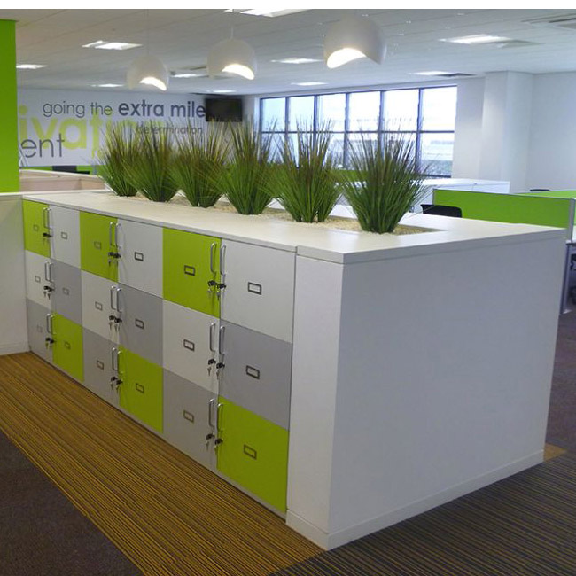 MFC office personal storage lockers