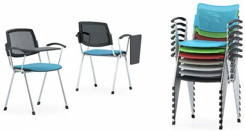 stacking meeting chairs