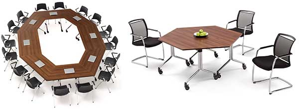 Modular training & conference tables