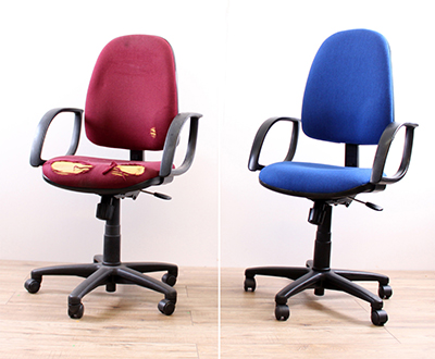 Office chair reupholstery & renovation