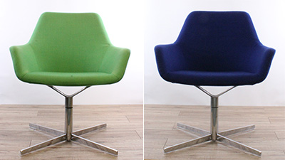 Office reupholstery - swivel chair