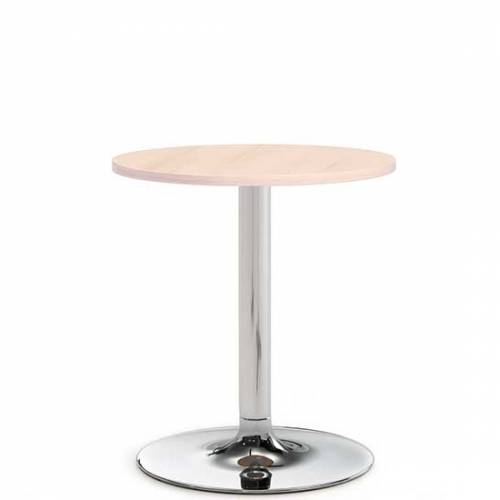 Benny pestal base meeting table - 600mm diameter