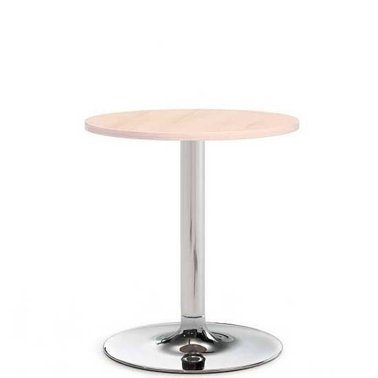 Benny pestal base meeting table - 600mm diameter