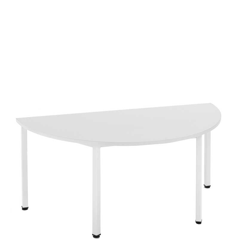 Metro semi circular modular table