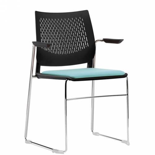 Pledge Vibe VB04 stacking meeting chair
