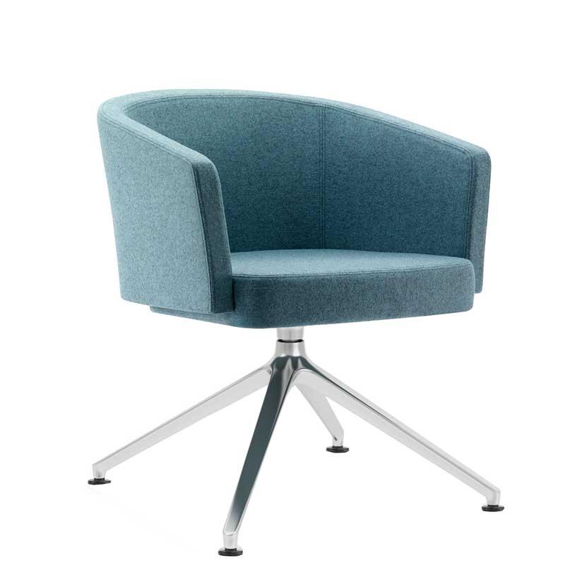 Zone Raised Swivel Chair