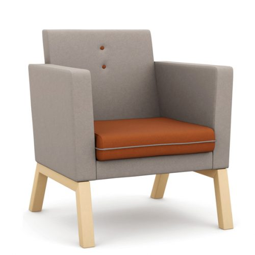 Me, Myself & I medium back armchair