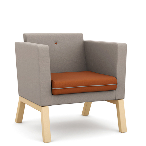 Edge Design - Me, Myself & I - low back armchair