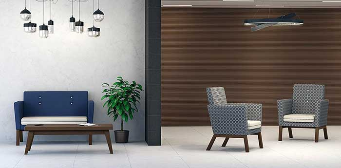 Reception Sofas - Pledge Chairs