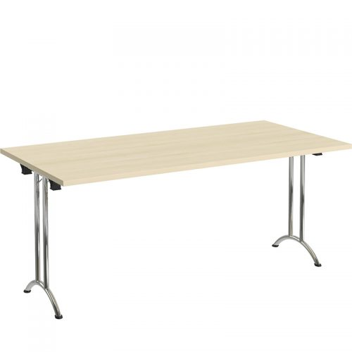 Rectangle folding modular table