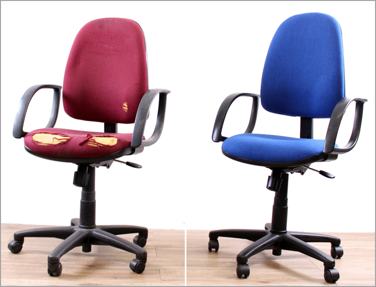 Operator chair reupholstery  sc 1 st  HSI Office Furniture & All office chair types u0026 styles transformed with reupholstery | HSI ...