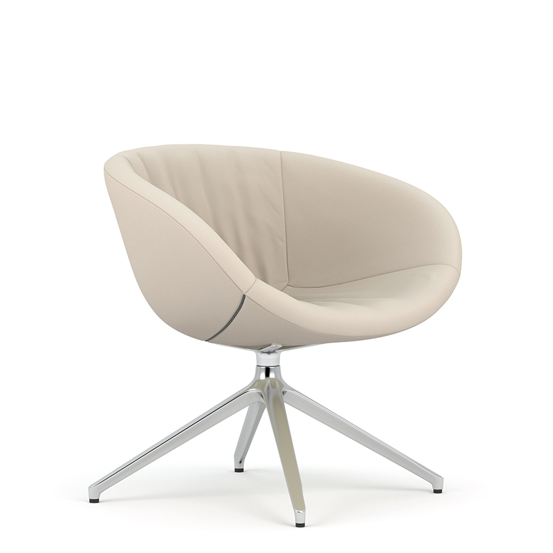Ripple swivel tub chair