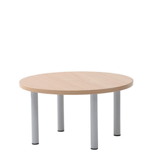 Round coffee table plaza