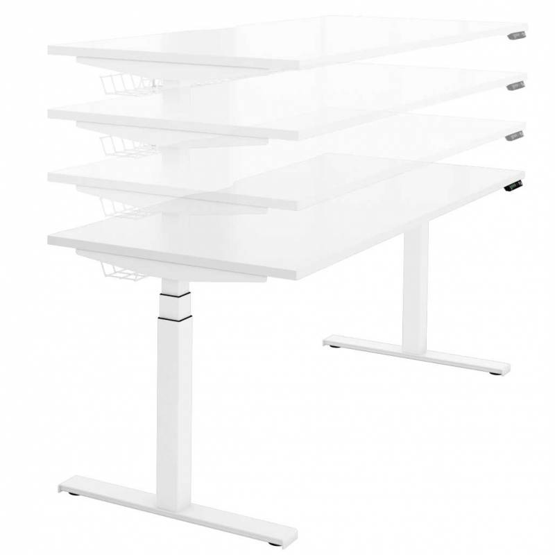 Sit stand desk - cosine electric single
