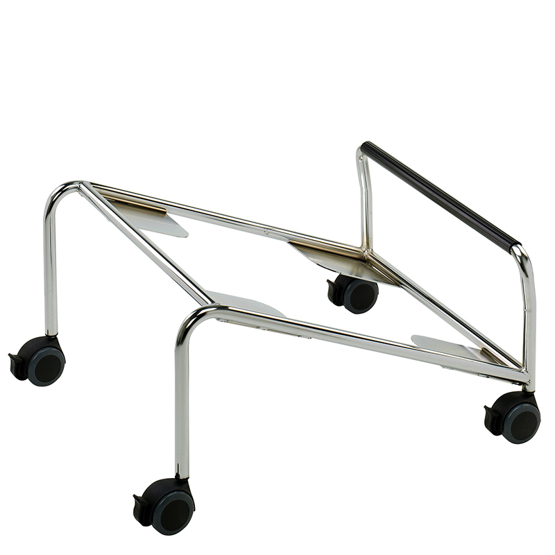 Stacking conference chair trolley