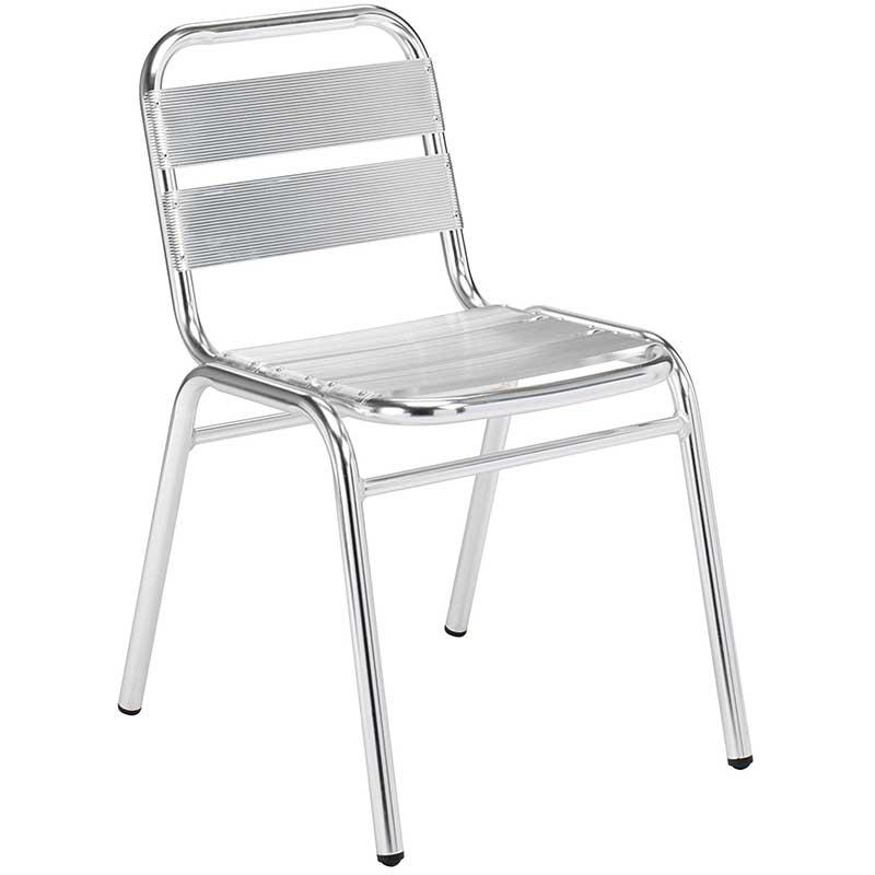 Summit AT30 Aluminium Bistro Chair