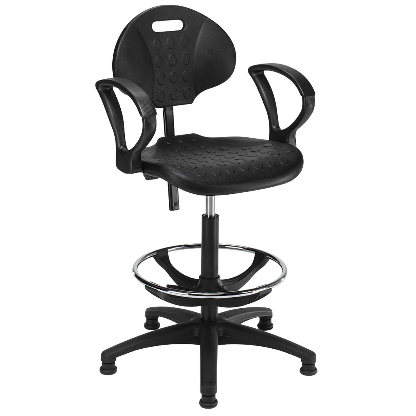 industrial draugtman chair ring arms ind6a hsi office