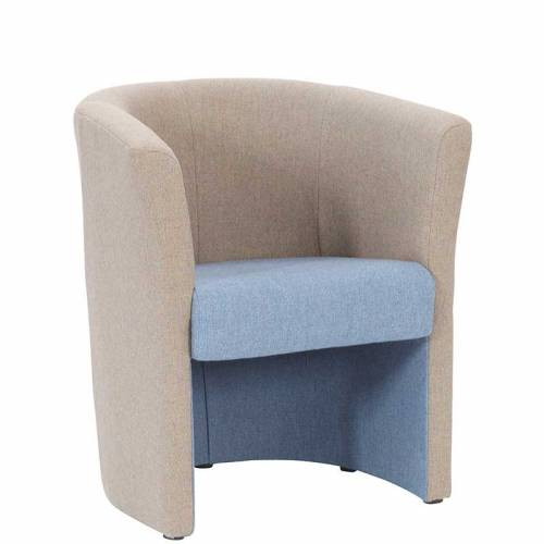 Tub two tone armchair