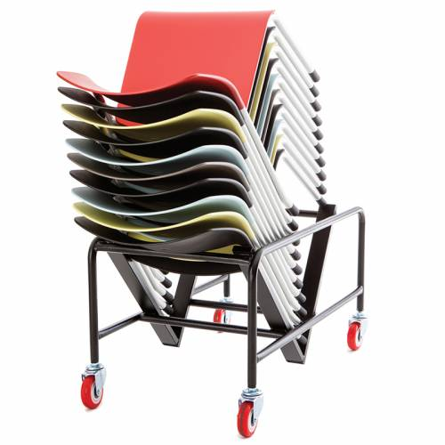 Verco Muse stacking chair trolley