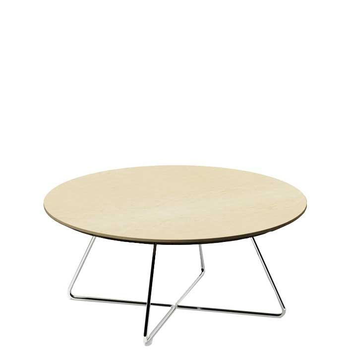 Verco Plus round coffee table - plu3